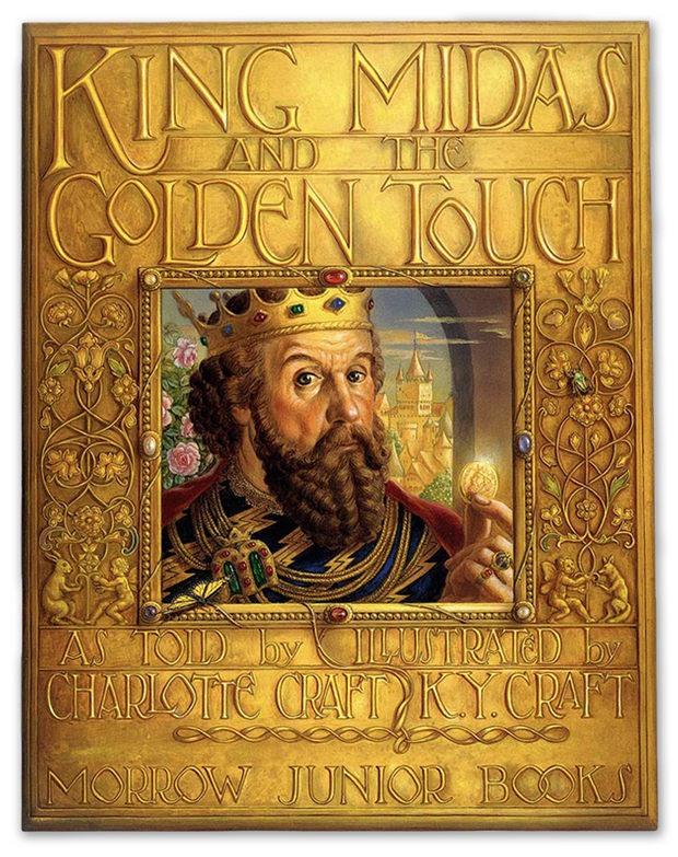 001 king midas golden touch kinuko craft King Midas and the Golden Touch by Kinuko Y. Craft