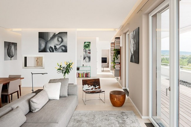 001 penthouse heidelberg 650x433 Penthouse in Heidelberg