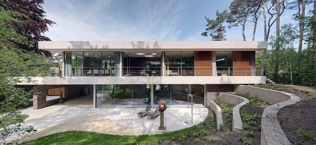 002 dune villa hilberinkbosch architecten 650x299 Dune Villa by Hilberinkbosch Architecten