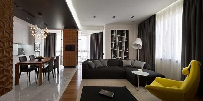 002 graphite penthouse denis rakaev 650x326 Graphite Penthouse by Denis Rakaev