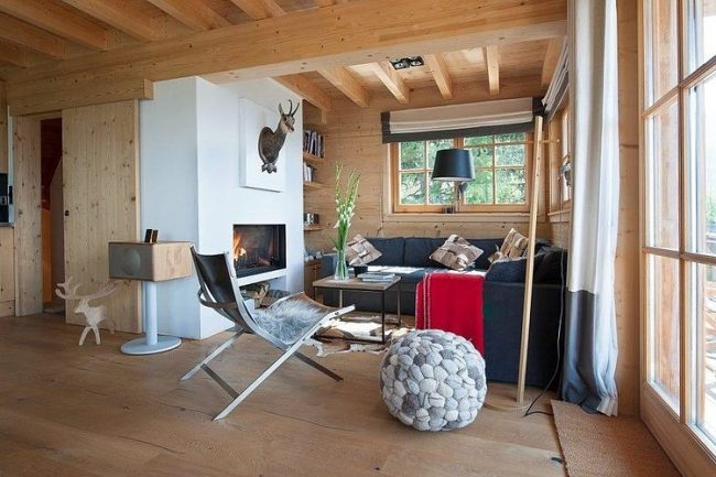 004 chalet switzerland donatienne dogimont 650x433 Chalet in Switzerland by Donatienne dOgimont