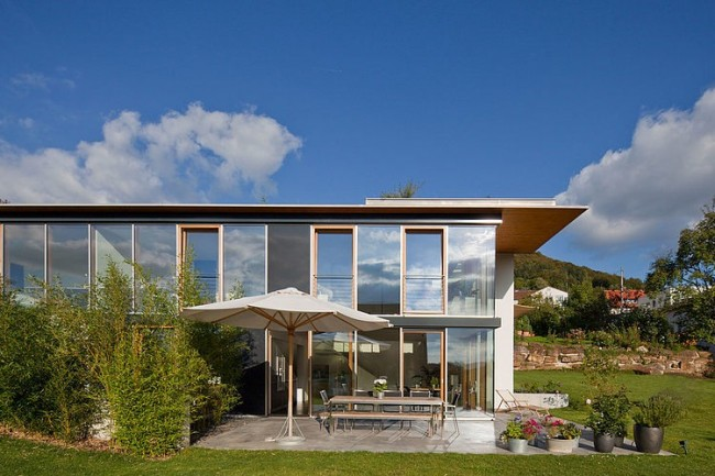 004 multigenerational house kaercher architekten 650x433 Multi Generational House by Kaercher Architekten