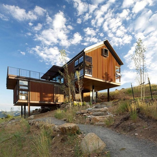 013 sunshine canyon house rene del gaudio architecture 650x650 Sunshine Canyon House by Renée Del Gaudio Architecture