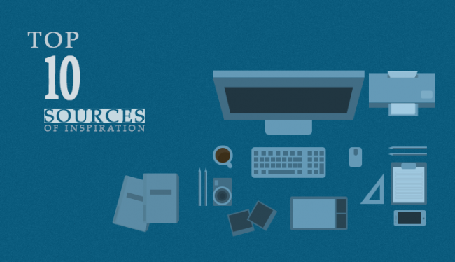10 sources web design 650x374 Top 10 Sources of Inspiration for a Web Designer