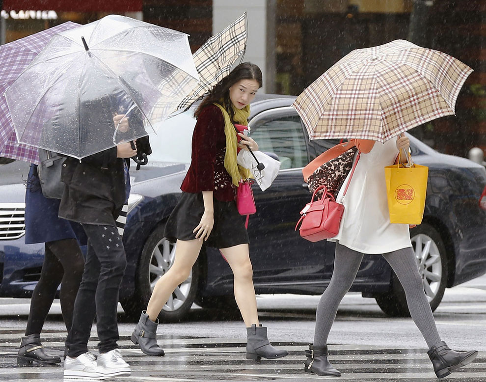 1102 Typhoon Phanfone Slams Japan