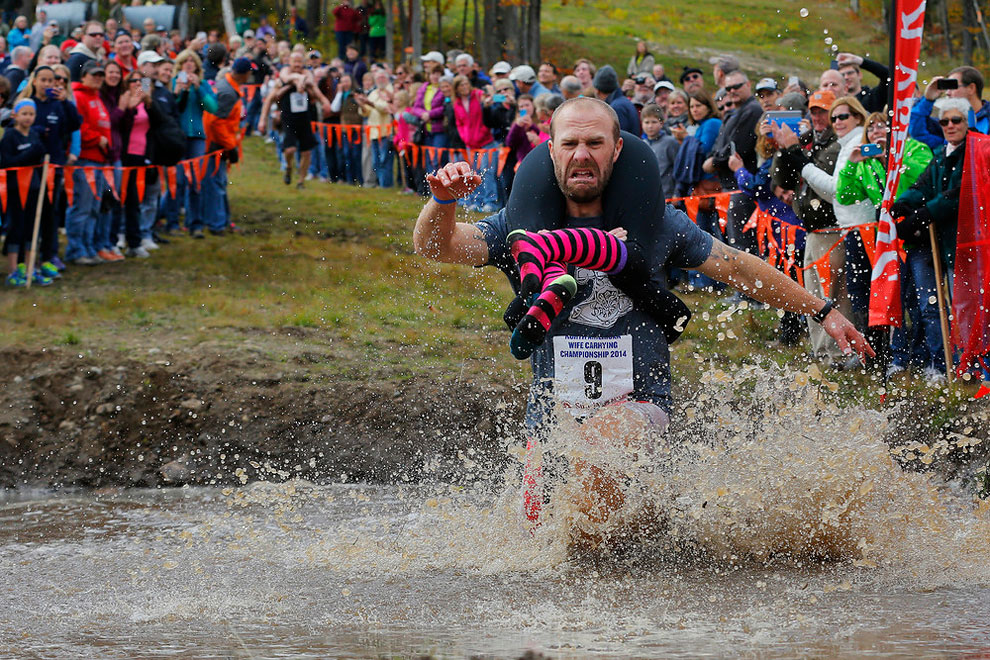 1160 North American Wife Carrying Championship