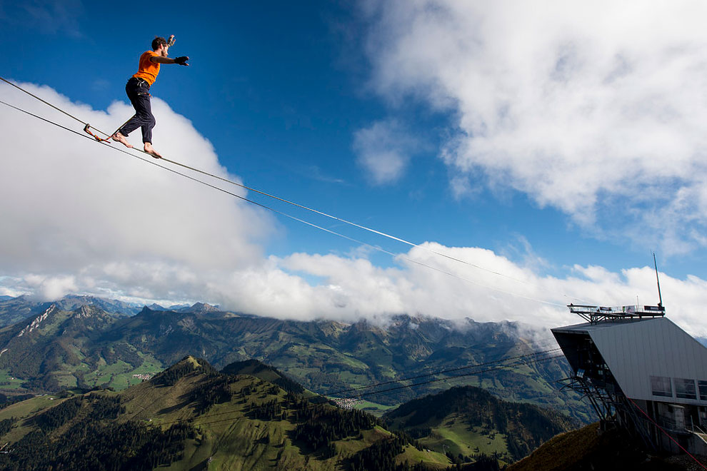 1204 Balancing on the Highline