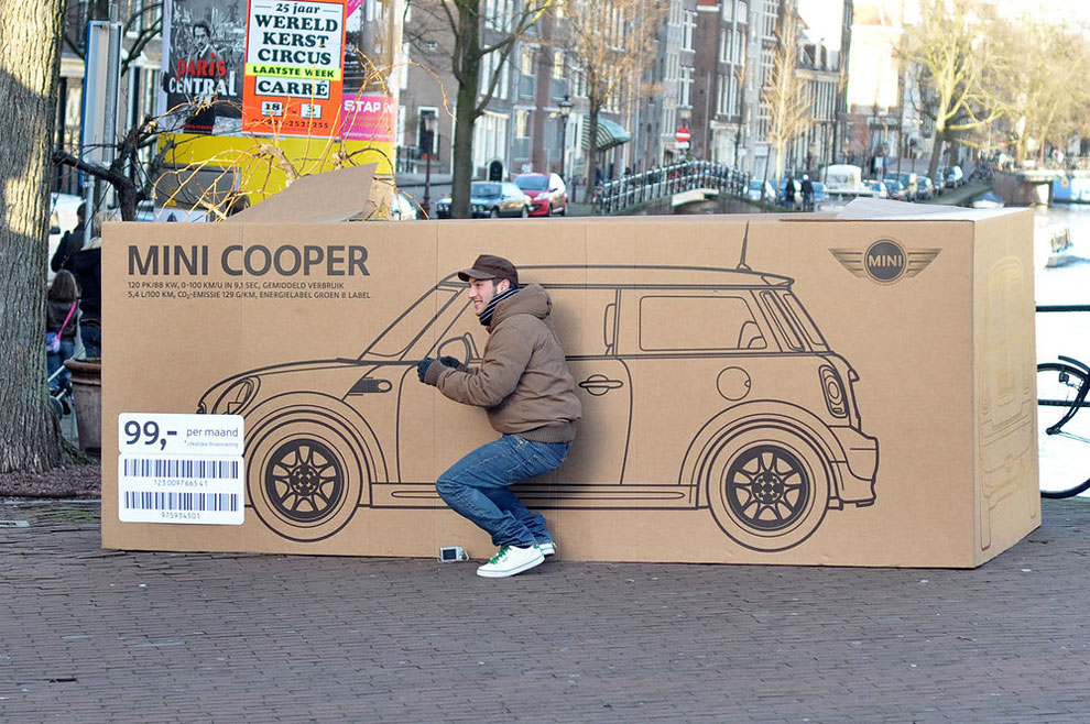 1277 Mini Cooper Boxes in Amsterdam