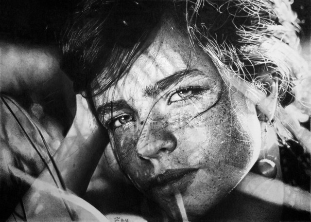 1355736564 1 640x456 Photorealistic Pencil Drawings by Franco Clun