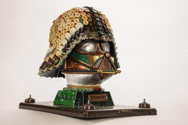Amazing Mechanical Sculptures by Gabriel Dishaw