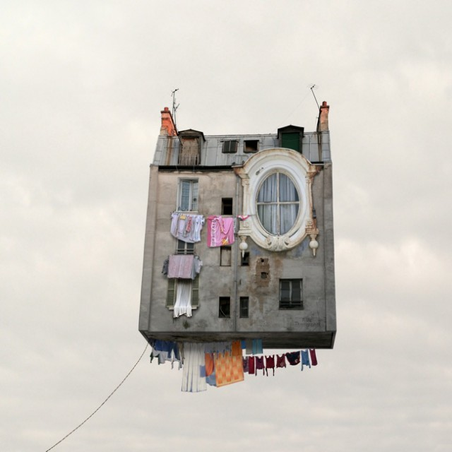 1357638938 0 640x640 Flying Houses: A Photo Project by Laurent Chehere