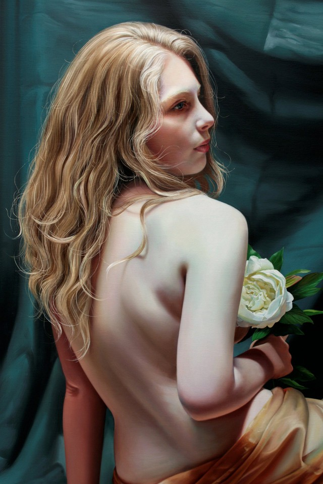 1358404277 3 640x960 Hyper realistic Oil Paintings by Christiane Vleugels