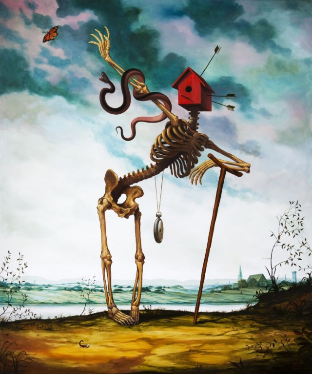1359960384 2 640x766 Surreal Paintings by Mike Davis