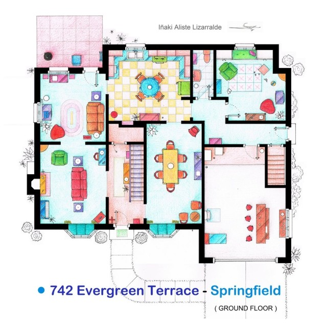 1362386239 0 640x640 Floor Plans of Movies and TV Shows Apartments and Houses