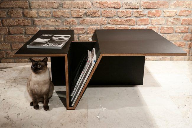 1403 650x433 Mag Rack Tables Series by ZONE Architekten Vienna