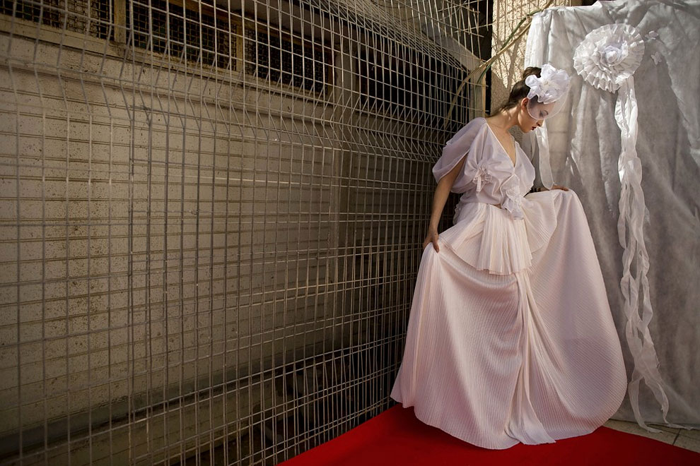 1481 Israel Prison Hosts Inmate Fashion Show