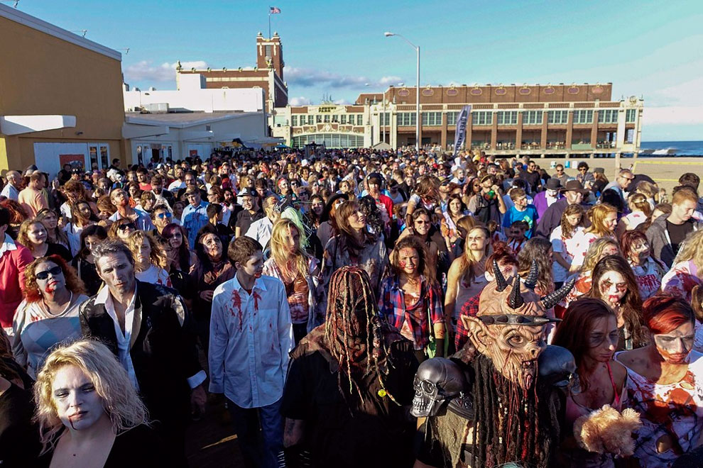 150 Zombie Walk in New Jersey