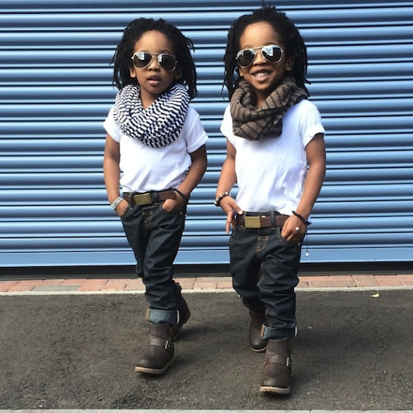 "2YungKings Young Twin Brothers Dressed In Matching Dapper Outfits 2014 01 ""2YungKings"" – Young Twin Brothers Dressed In Matching Dapper Outfits"