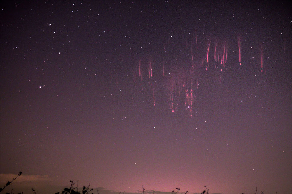 524 Red Sprite Lightning – Explosions in the Sky