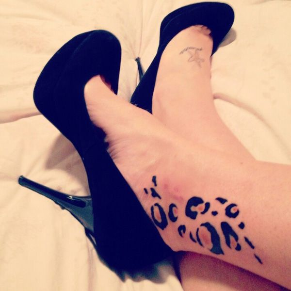 54 Cheetah and Leopard Print Tattoos 60+ Ankle Tattoos for Women