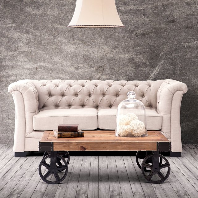 Barbary Coast Distressed Cart Table 01 Daily Gadget Inspiration #230