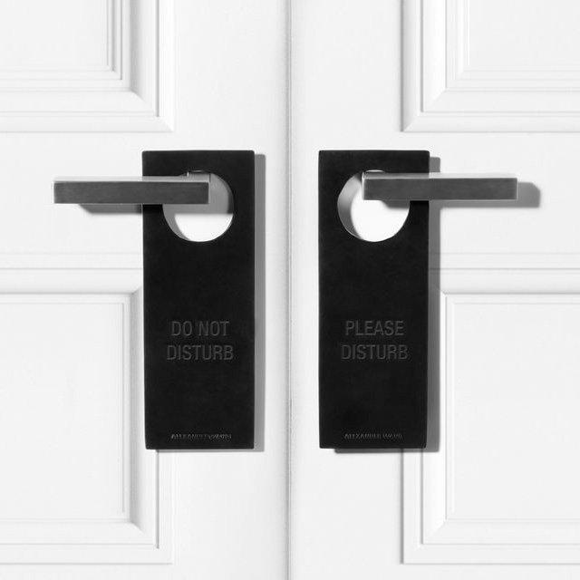 Black Door Sign by Alexander Wang 01 Daily Gadget Inspiration #216