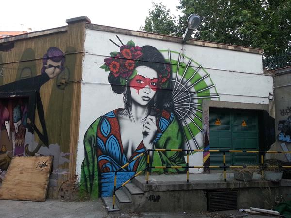 Fin Dac Angelina Christina 9 Street Art by Fin Dac