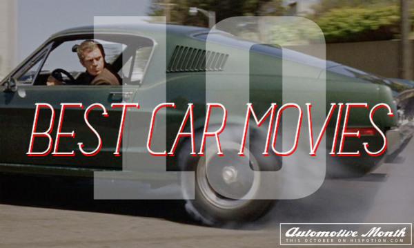 Ford Mustang Bullitt Steve McQueen 600x359 Top 10 Car Movies Of All Time