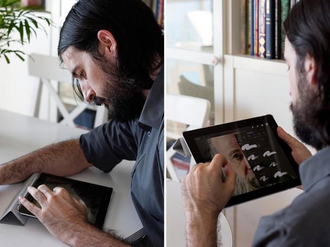 JaimeSanjuanOcabo01 650x486 The Artist Draws Unusual Hyperrealistic Paintings on iPad