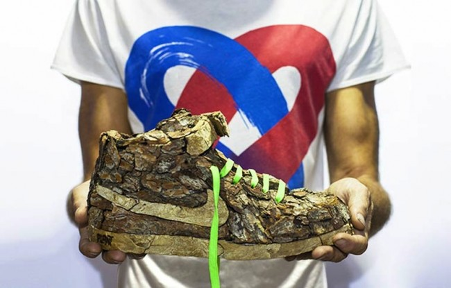 Just Grow It Les Sneakers Vegetales by French Artist Monsieur Plant 2014 01 650x415 Just Grow It ! – Les Sneakers Végétales by French Artist Monsieur Plant