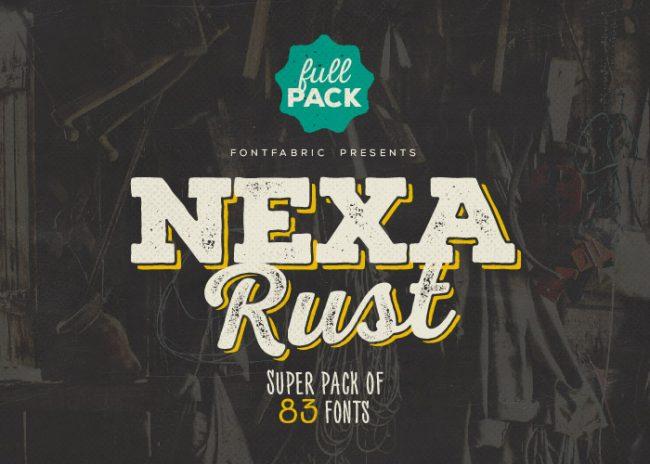 Nexa Rust Free Font 5 650x464 Nexa Rust Free Font
