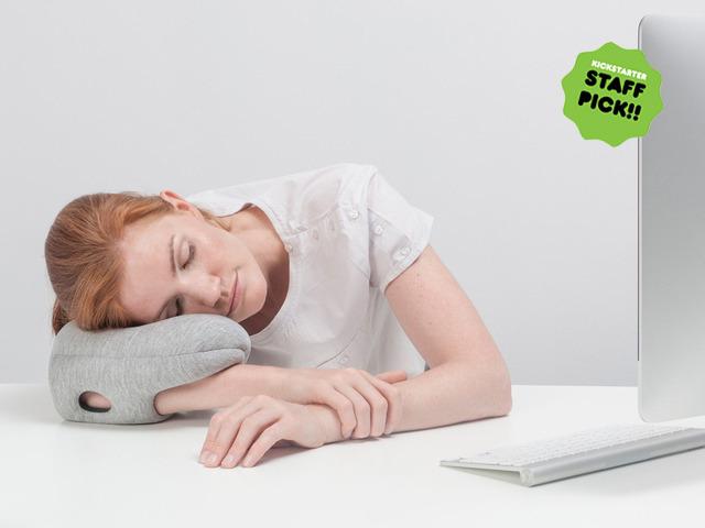Ostrich Pillow Mini Daily Gadget Inspiration #225