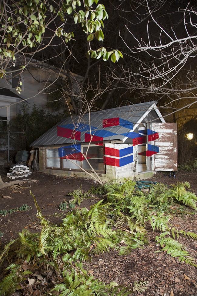 White House EDIT 650x974 Anamorphic Illusion Installation Photography by Oktawian Otlewski