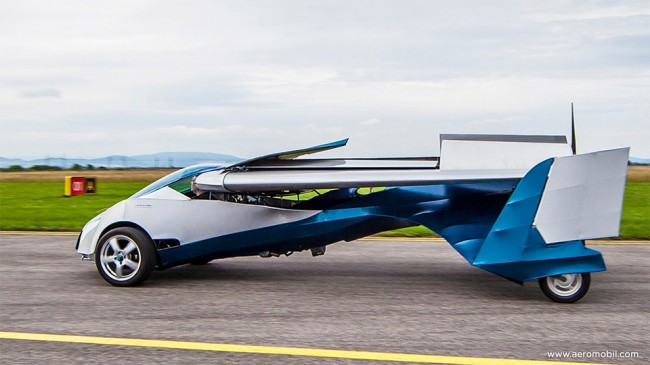 a6 650x365 Aeromobil Flying Car is For Real Life Batman