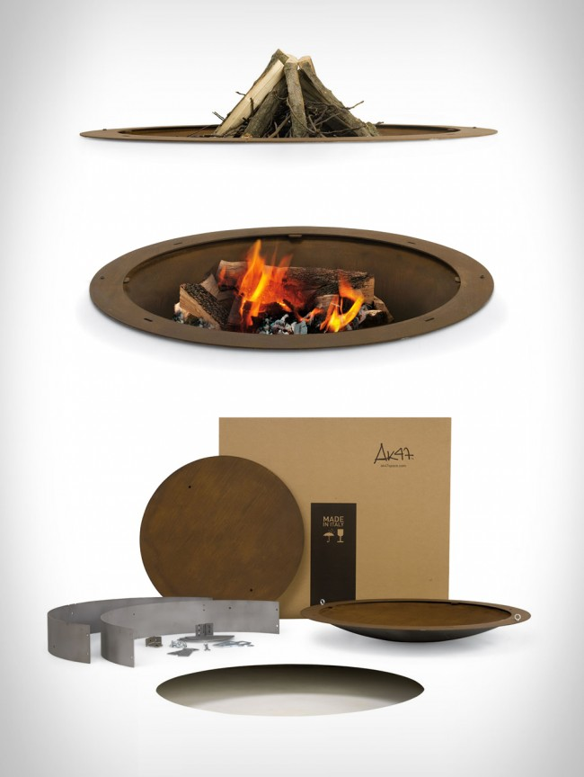 ak47 design hole fire pit large 650x864 Hole Fire Pit, by AK47 Design