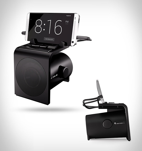 dreamer alarm clock speaker dock large Dreamer Alarm Clock & Speaker Dock