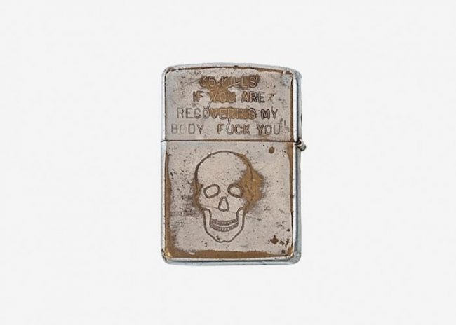 foto zippo 51 650x464 The Personalized Zippos Of Vietnam War Soldiers