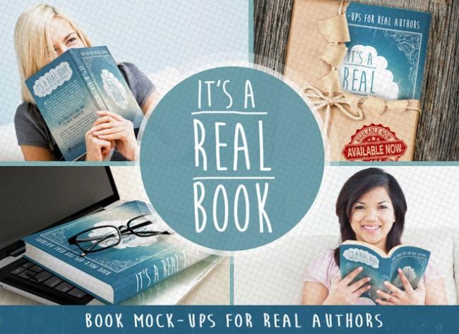 free book mockup 01 650x473 7 Free Professional  Book Mockup PSD
