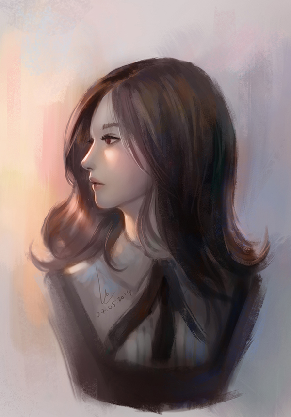 girl13asmall by chaosringen Beautiful Digital Art by Nguyen Uy Vu