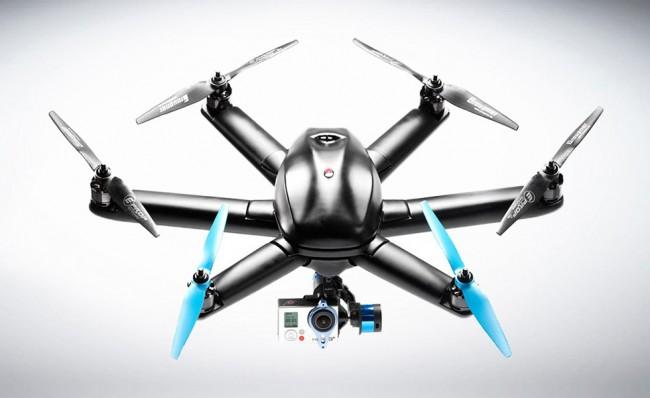 hexo aerial drone 650x398 Hexo+ Aerial Drone