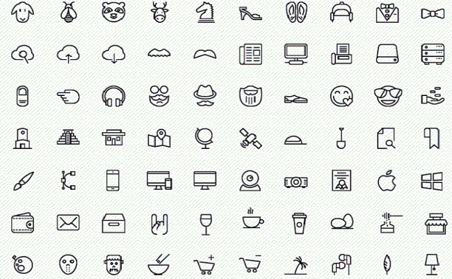 icons 650x401 100 Amazing free iOS 8 icons