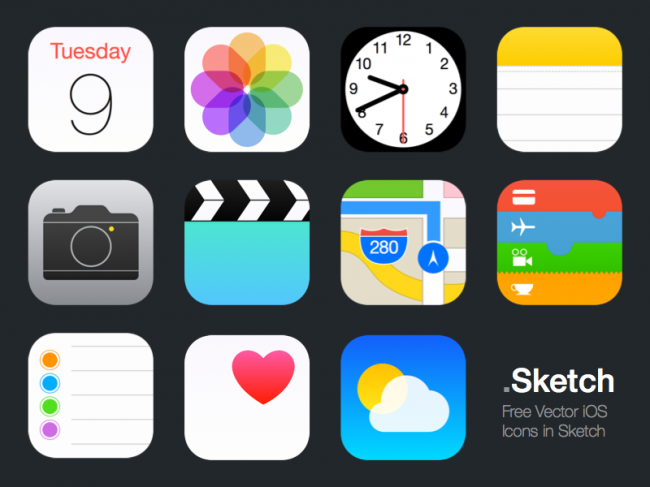 ios sketch apps 650x487 30 Free Useful Icon Sets for October 2014