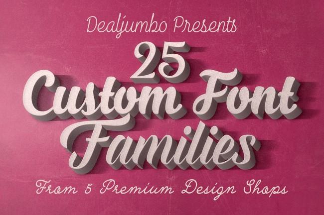 mainprv1 650x432 25 Custom Font Families