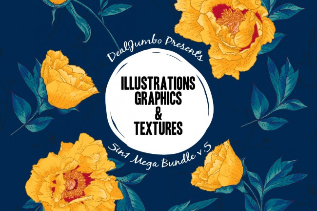 map1 650x432 Mega Bundle: Illustrations, Graphics & Textures
