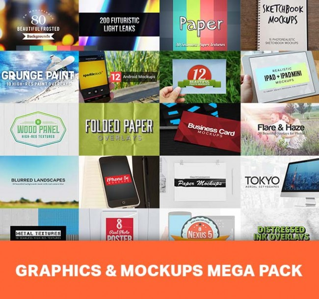 md2 650x609 18 Professional, Hi Res Graphics and Mockups Bundles   only $17!