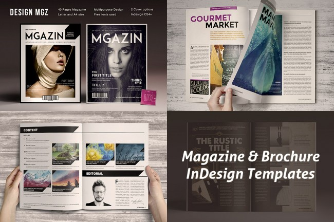 mprvv 650x432 Magazine & Brochure InDesign Templates
