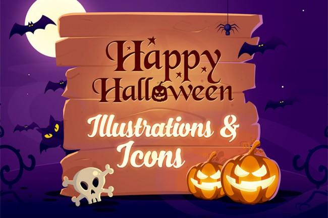 p01 650x432 Free Halloween Illustrations & Icons