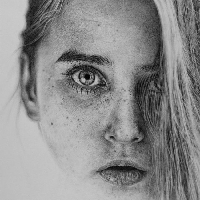 photorealistic01 650x650 Monica Lee Creates Stunning Photo Realistic Drawings with Just a Pencil