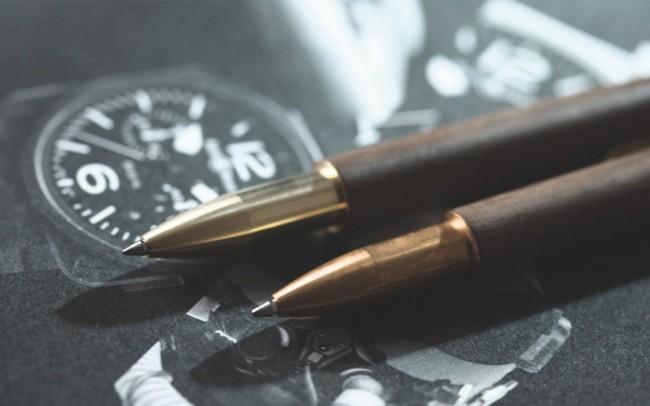 retro wooden pen 01 650x406 Retro Wooden Pen