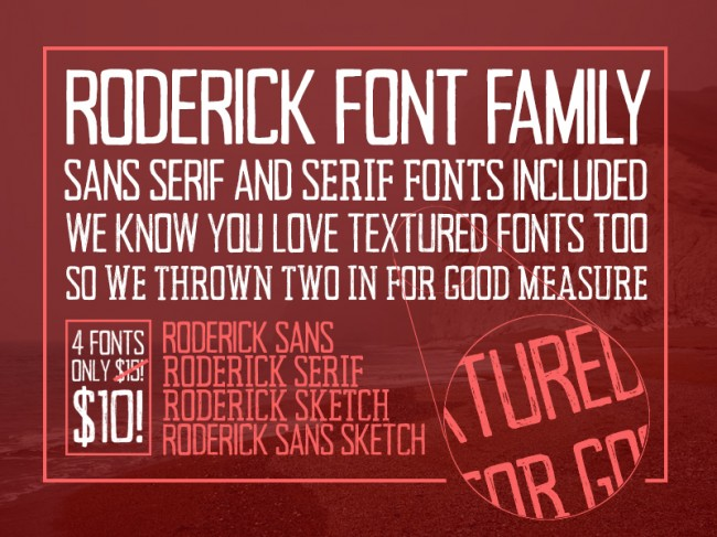 roderick 650x487 Meet the Versatile Roderick Font Family